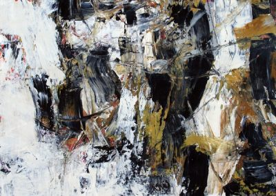 """Resistance<br> 22"""" X 15"""" Mixed Media on Paper"""