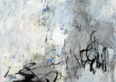 "Reverberation<br>50"" X 38"", Mixed Media on Paper"