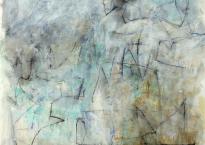 """Passages I<br> 50"""" X 36"""" Mixed Media on Paper"""