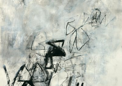 """Resonate I<br>40"""" X 30"""" Mixed Media on Paper"""
