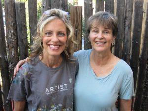 julie schumer and cat tesla art workshops