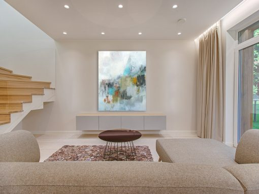 Colorful Abstract in a Great Room