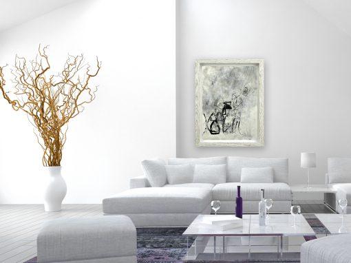 White Walls, White Frame