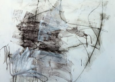 "Renewal<br>50"" X 38"" Mixed Media on Paper"