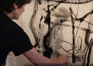 abstract painting workshop with julie schumer