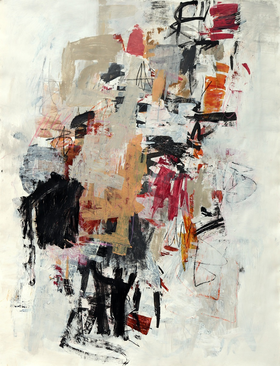 julie schumer Shift in the Winds, 50 X 38, mixed media on paper