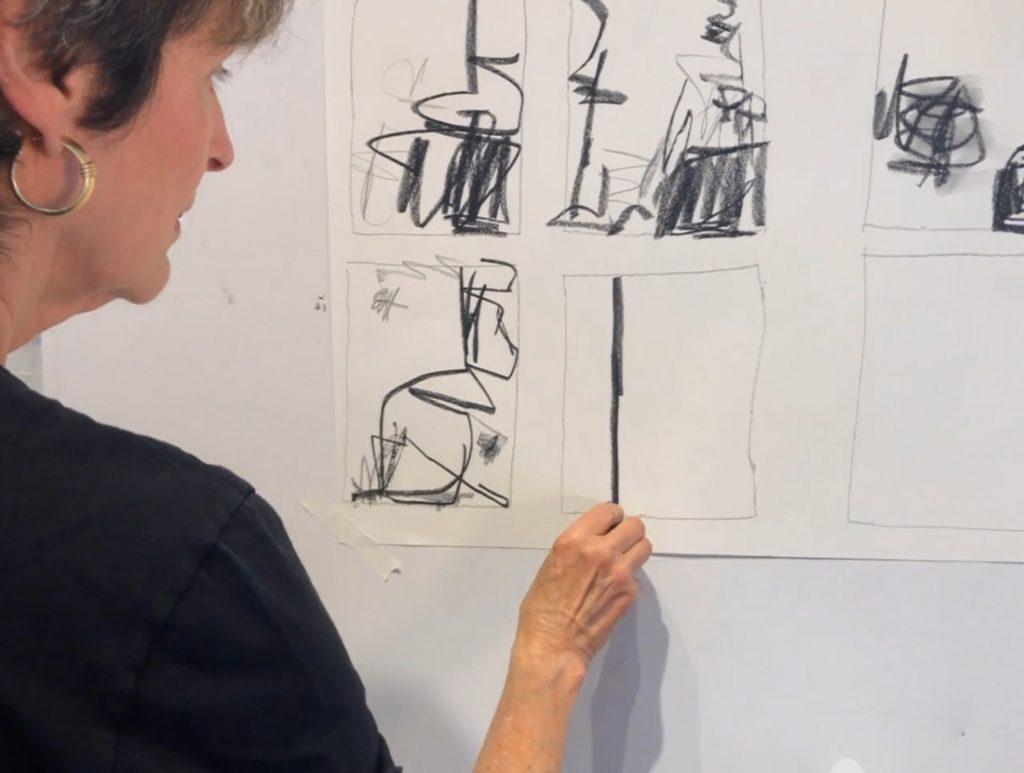 julie schumer workshop mark making